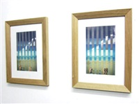 sometimes, sometimes (diptych) by ludovic sauvage
