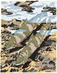 two trout by neil welliver
