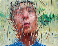 extreme illusion - self-portrait by liu baomin