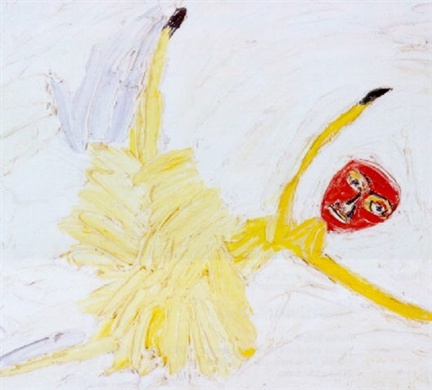 yellow ballerina no6 by davida allen