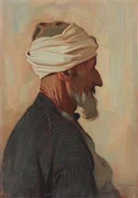 turkish merchant by constantin artachino