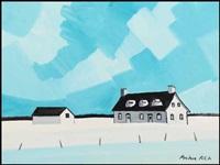 xvii century house by claude picher