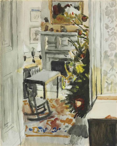 christmas morning by fairfield porter