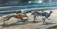 greyhouns racing by mick cawston