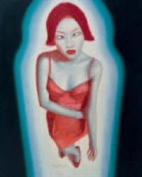 portrait by huang longsheng
