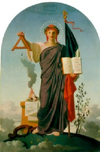 allegorical figure of the republic by felix fossey