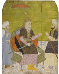 timur with attendants by anonymous-indian (19)