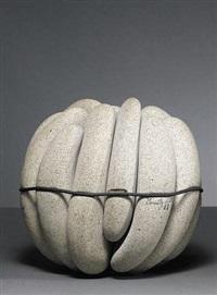 stoneware sphere by bradley r. miller