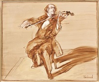 violoniste by claude weisbuch