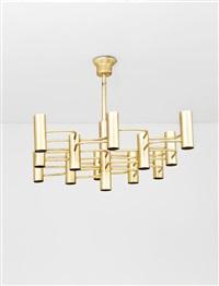 lampadario a dodici punti luce by sciolari (co.)