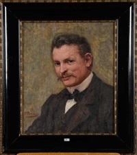 portrait de l'oncle désiré by pierre paulus