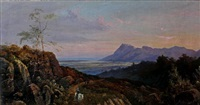 view from the bridle path up table mountain by abraham de smidt