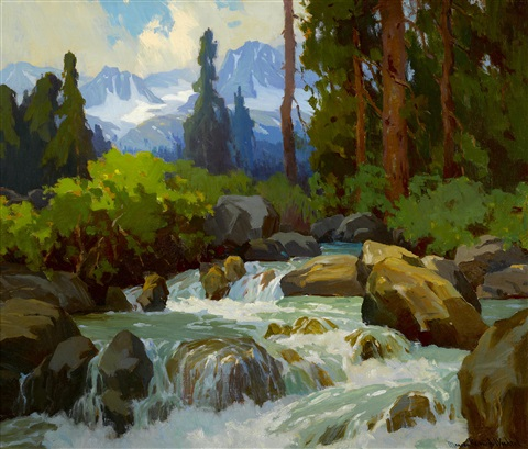 near mineral falls high sierras by marion kavanaugh wachtel