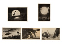 retrographies (set of 5) by thomas herbrich