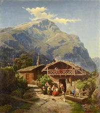 a motif from hasliberg by johann wilhelm lindlar