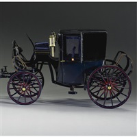 a modern model of a c spring brougham in miniature by eric a. homewood