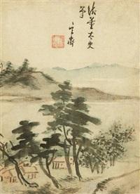 landscape by shim sa-jung