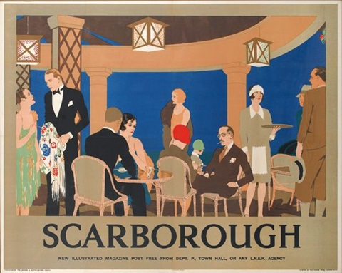scarborough by reginald edward higgins