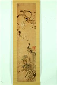 birds and flowers by zhou yigui