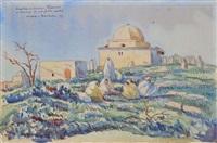 orientales devant le village by marc dulout