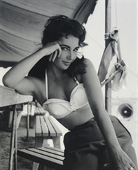 elizabeth taylor by frank worth