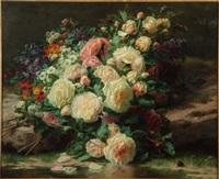 jeté de fleurs by jean-baptiste robie