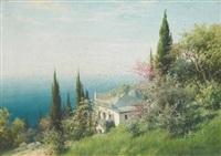 crimean landscape by viktor pavlovitch baturin