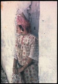 algérie: portrait de femme by jules gervais courtellement