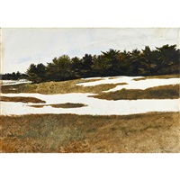 hill drifts by andrew wyeth