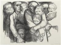 mutter ii (mothers ii) by käthe kollwitz