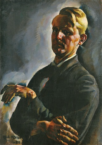 self portrait by vilmos aba novák