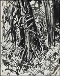 forest interior by arthur lismer