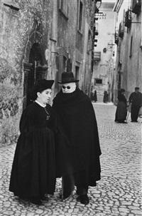 abruzzo, scanno by henri cartier-bresson