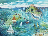 st. michael's mount by simeon stafford