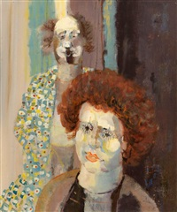 two clowns by george campbell