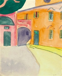 recto: casa camuzzi, verso: montagnola by hermann hesse
