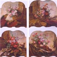 floral still life by marie thérèse lemaire