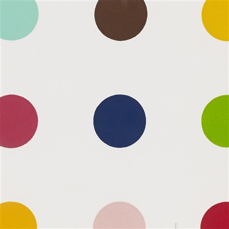ethisterone by damien hirst