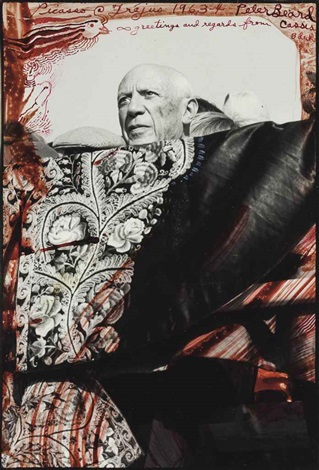 picasso fréjus by peter beard