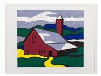 red barn ii by roy lichtenstein