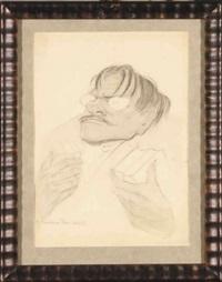 portret tytusa czyżewskiego jako poety by tadeusz waskowski