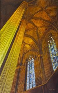 la seu, barcelona - looking up 3 by phillip hoye