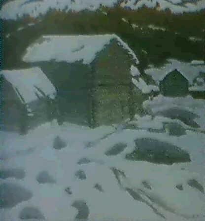 granges dans la neige by youri mochkin