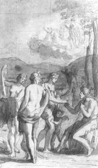 the judgment of paris by claude audran the younger