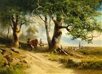 heimtrieb der kühe by conrad bühlmayer