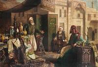 an ottoman trader by carl johann spielter