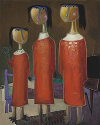 three sisters by angel botello