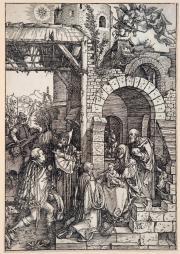 la vie de la vierge (portfolio of 20) by albrecht dürer