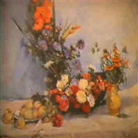 fleurs et fruits by irena remiz