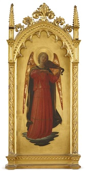angel musician by fra angelico